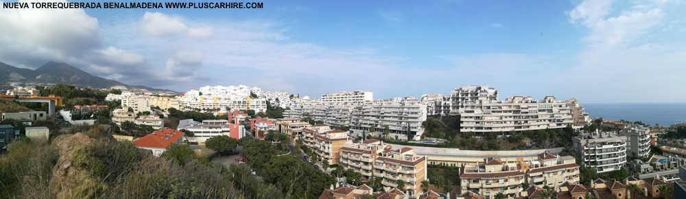 Nueva Torrequebrada, Benalmadena : Facts Location and Street Map