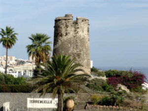 benalmadena costa torremuelle moorish tower